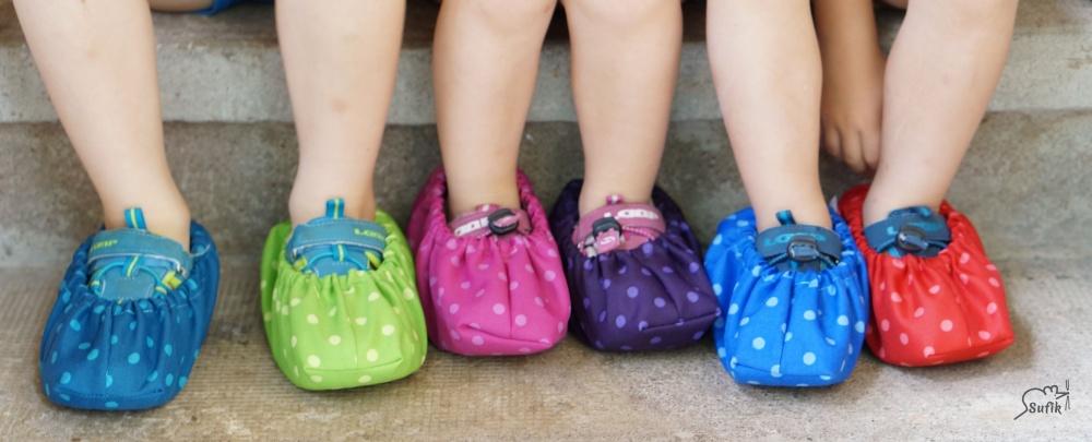 Nepromokavé návleky na boty pro děti i dospělé