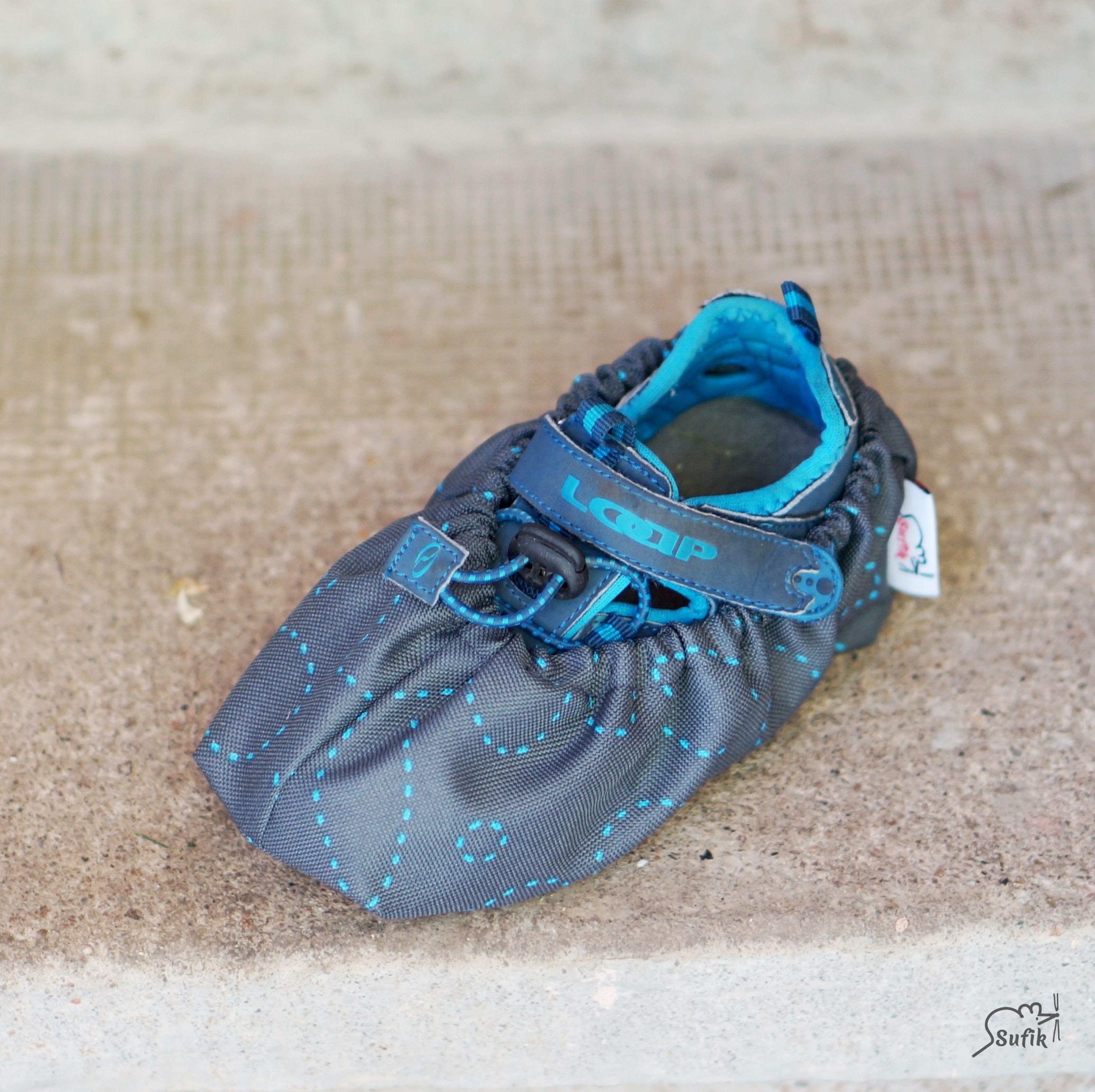 Návleky na boty 28-34 šité kytky 1d8c1345b8