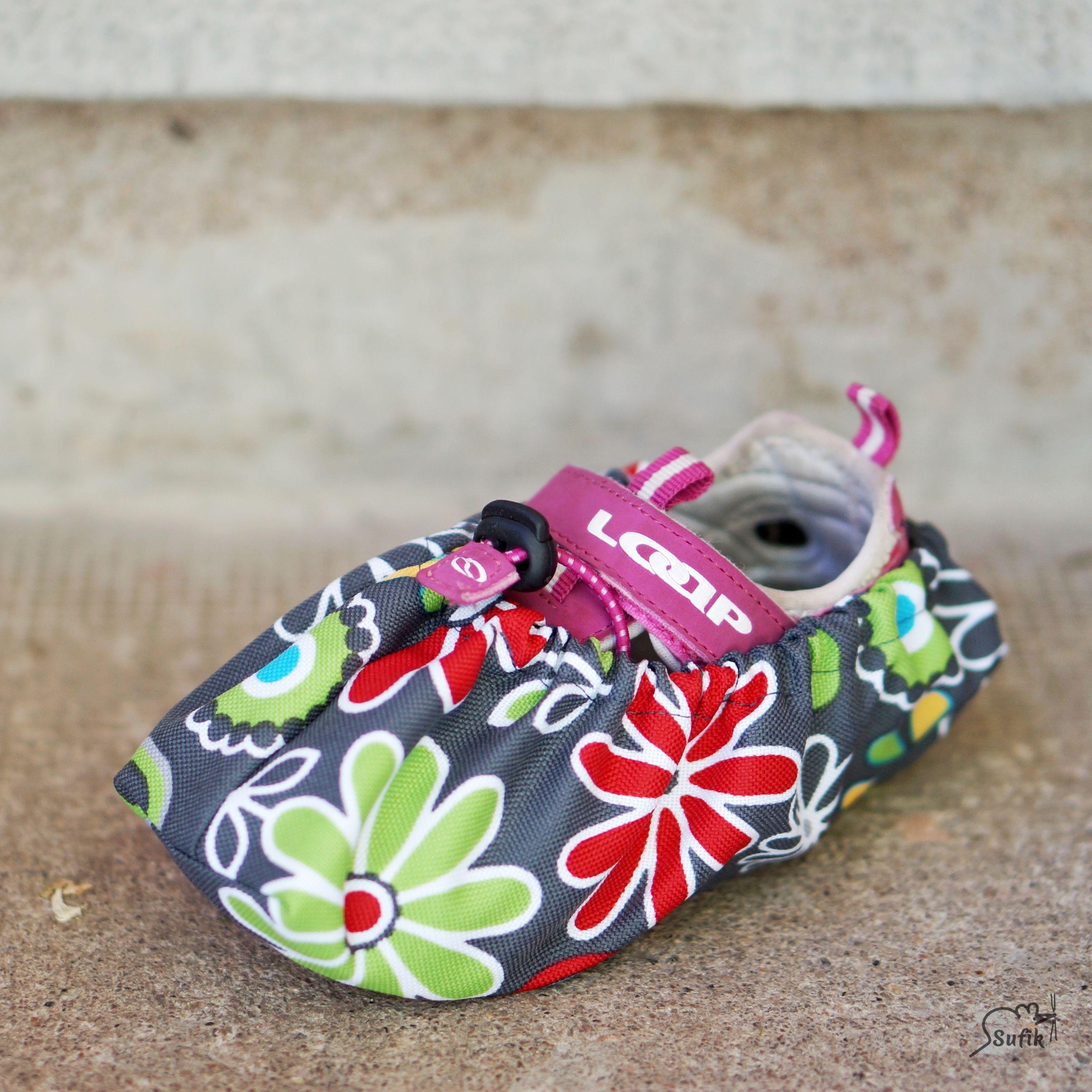 Návleky na boty 19-24 rozkvetlá louka baccf96bef