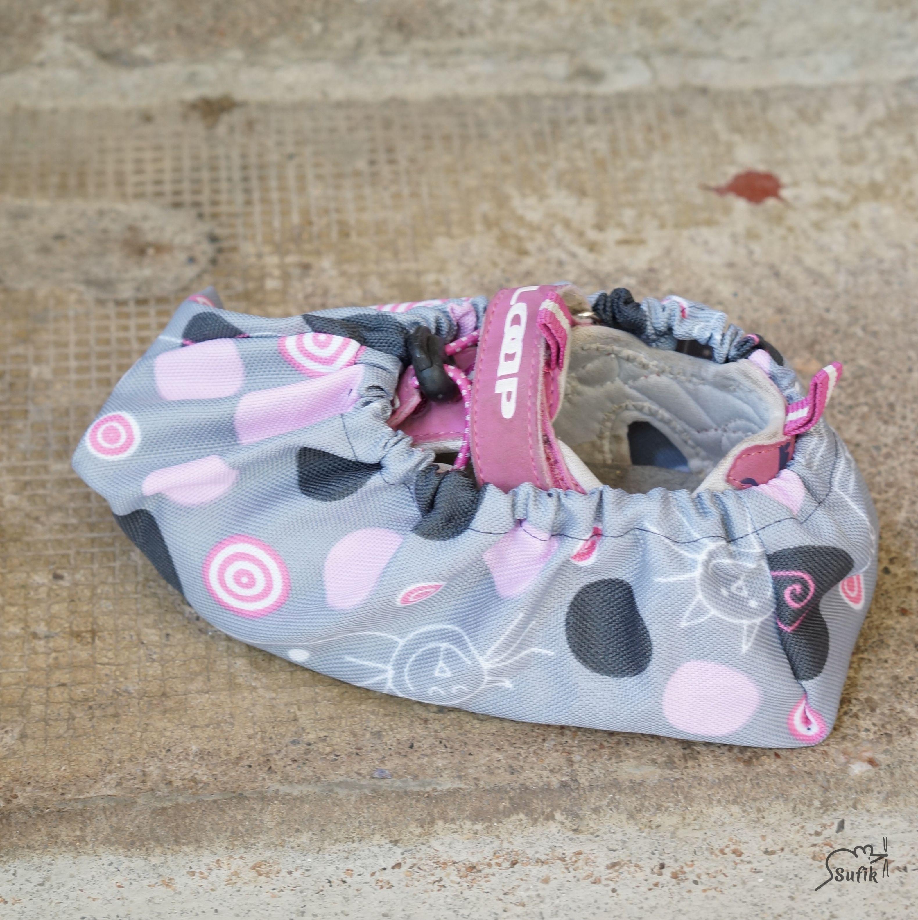 Návleky na boty 32-38 kočky růžové  a7f1db7149